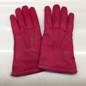 Like-new Coach leather gloves